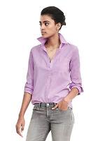 Brand New Banana Republic Dillon-Fit Oxford Pocket Shirt Color Pink #382876