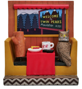 Twin Peaks Icons Bobble Head with Enamel Pin Set #2 - NYCC 2020 - Limited to 504