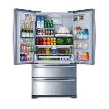 Smeta 21 cu ft French Door Refrigerator Depth 36