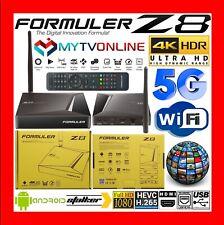 ✅ FORMULER Z8 NEUF 4K HDR WIFI 5G ANDROID 2GO 16GO QUAD CORE MYTV-ONLINE STALKER