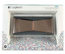 Logitech X300 Mobile Wireless Stereo Bluetooth Speaker - Cooper Black
