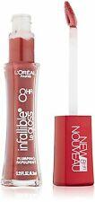 L'OREAL INFALLIBLE LE GLOSS 8 hr PLUMPING LIP GLOSS PLUMPED PLUM 706 NEW SEALED