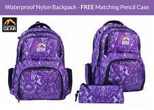 Outdoor Gear Ladies Girls Backpack Rucksack Daypack School Travel Bag Paisley