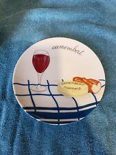 Vintage Porcelaine de Sologne Made in France Camembert Plate