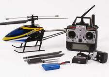 MJX F49 Complete Ready To Fly Radio Control Helicopter 4 Channel Beginner Yellow