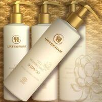 Urtekram Shampoo MORNING HAZE 245ml bio Naturkosmetik Hyaluron Vitamine Protein