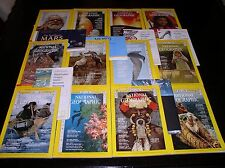 12 NATIONAL GEOGRAPHIC MAGAZINE COMPLETE SET 1973 ~ INCLUDES ALL SUPPLEMENTS