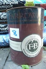 Paint FARROW & BALL interior wood primer & undercoat 5Lt  No. 22 light blue  ..8