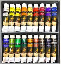 New! JACK RICHESON 18 Colours x 12ml Oil Paint Tubes Set Painting Art Artists