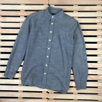 Men's shirt Long Sleeve over shirt wood wood Size S