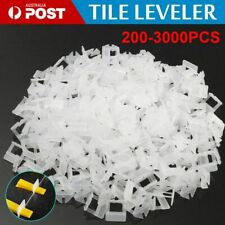 2000x Tile Leveling System Clips Levelling Spacer Tiling Tool Floor Wall  1.5MM