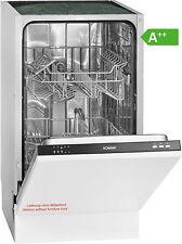 Bomann GSPE 891 Einbau-Geschirrspüler / EEK: A++ / 9MGD / Spülmaschine / 45cm
