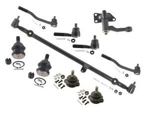 2WD For Nissan D21 Pickup XE 2.4L Tie Rods Ball Joints Center Link Idler Arm New