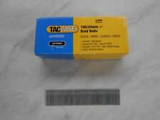 1 Box of Tacwise 18g/25mm Brad Nails