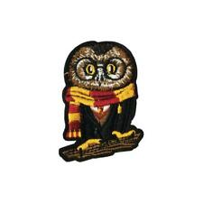 Hogwarts Gryffindor School Owl (Iron On) Embroidery Applique Patch Sew Badge