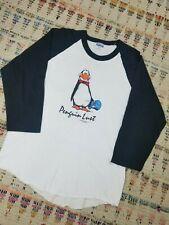 Vintage 80s Opus Penguin Lust Washington post Raglan comic cartoon Shirt 1980s