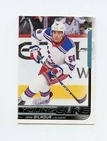 18/19 UPPER DECK YOUNG GUNS ROOKIE RC #457 JOHN GILMOUR RANGERS *61263