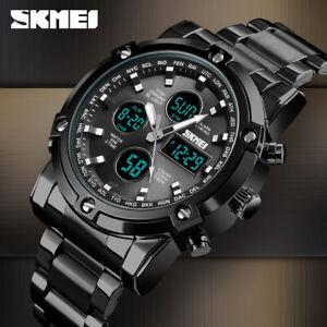 SKMEI Quartz Wristwatch Fashion Digital Sport Men's Watch 30m Waterproof 1389 D