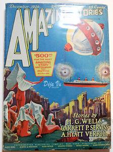 Amazing Stories Magazine  - Issue  9 - December 1926 - Fine