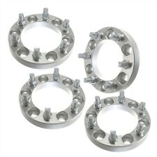 """(4) 1"""" Chevy GMC Hummer Wheel Spacers H3 Colorado Canyon 1.5 12x1.5 Studs"""