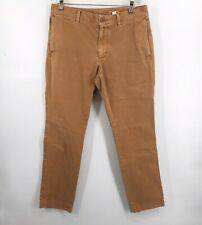 Fossil Men's Fletcher Modern Fit Light Brown Pants 32 x 30