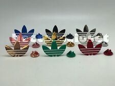 Adidas Trefoil PIN Shoe Jacket 1 Pair (2 pcs) Kith Retro Lot USA