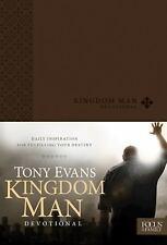 Kingdom Man Devotional by Tony Evans (2013, Imitation Leather)