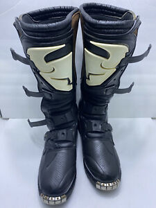 Thor Quadrant 1 MX Motocross Off Road Boots Mens Size 11 Leather FAST SHIPPING
