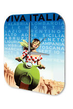 Wall Clock Wall Decor Adventurer  Viva Italia Acryl Acrylglass
