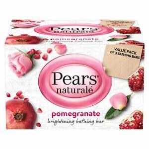 Ayurvedic Pears Naturalé Pomegranate Brightening Bathing Soap Bar, 125 gm