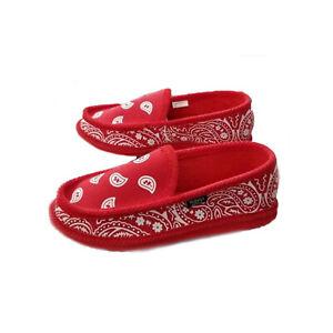 Men's Bandana House Shoes Slipper 4 Colors