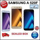 Samsung Galaxy A5 2017 SM-A520F 4G A520 ( BRAND NEW SEALED BOX) UNLOCKED SIMFREE