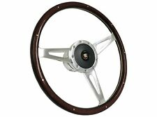 1969 - 1989 Cadillac S9 Espresso Stained Wood Steering Wheel Kit | Telescopic