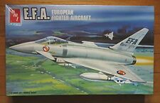 AMT Ertl EFA Eurofighter vintage plastic aircraft model