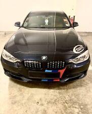 BRAND NEW OEM BMW Blue and White Genuine  Carbon Fibre Roundel Emblems 7 Piece