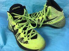 Nike Green Black High Top Basketball Sneaker Hyper Dunk Size 4.5 Y