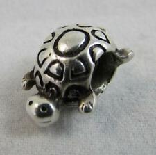 Authentic Rare Retired Pandora Sterling Silver Tortoise Charm 790158