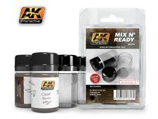 MIX N READY 35ml PAINT BOTTLES MODEL MODELING AK INTERACTIVE ACCESSORY 616