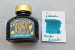 Diamine 80ml Fountain Pen Bottled Ink Aurora Borealis