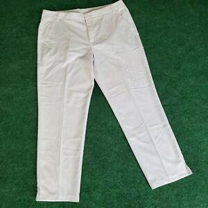 Puma Tailored Jackpot Golf Pants Sport Lifestyle White Cell Mens 40x32 Athletic