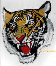 """FLYING TIGERS XL 9"""" JACKET PATCH PIN UP US ARMY AIR CORPS AVG CHINA MARINES NAVY"""