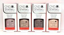 CND Shellac 0.25oz- All 4 shades UNDRESSED Collection - 92148-92151