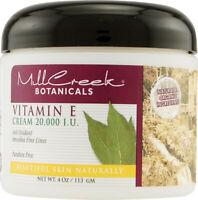 Vitamin E Cream 20,000 I.U. by Mill Creek, 4 oz
