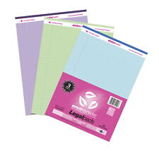 Enviroshades Legal Pads 8 12 X 11 Inches Assorted Colors 40 Sheets Pack Of