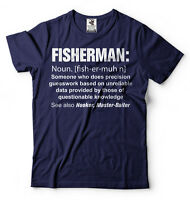 Fishing Shirt Funny Fisherman Definition Cool Gift For Fisherman Fishing T-shirt