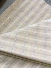 Brunschwig & Fils Fabric 2002 Neutral Stripe Crisp Cotton Linen 2 1/8 + Yds