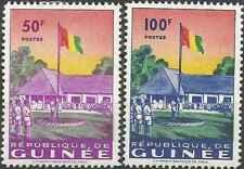 Timbres Drapeaux Guinée 21/2 * lot 23410