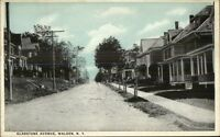 Walden NY Gladstone Ave Homes c1910 Postcard
