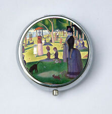 A Sunday on La Grande Jatte PILL case pill box pillbox holder