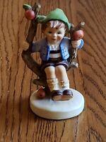 "Goebel Hummel Figurine ""Apple Tree Boy"" #142 3/0 TMK 6 W Germany Excellent Cond."